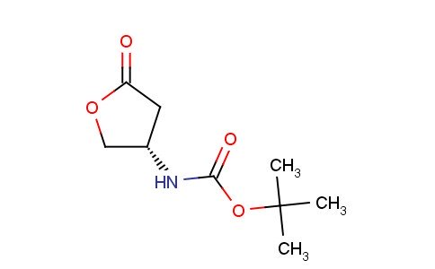 tert-butyl N-[(3S)-5-oxooxolan-3-yl]carbamate
