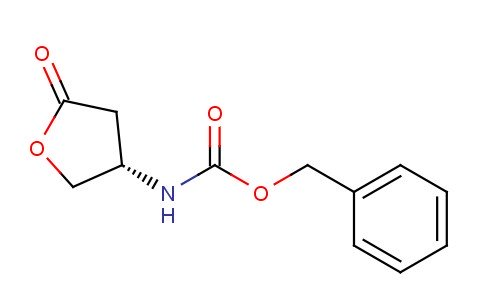 benzyl N-[(3S)-5-oxooxolan-3-yl]carbamate